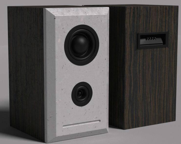 第001期 - C4D《每周一模》建模作业 - 来建个木制桌面音响吧~ 【附作品】NO1:熙浩 - R站|学习使我快乐! - 8