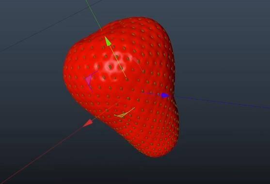 C4D建模教程:5分钟速建一个草莓教程技巧 免费下载 - R站|学习使我快乐! - 2