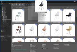 超强的可视化3D资产预览&管理工具Connecter (支持C4D/3DMAX/Sketchup/FBX等超多格式预览&管理) 免费下载