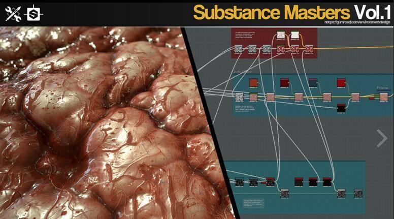 Gumroad – Substance Masters Vol.1 材质纹理制作大师训练班第一季 视频教程 免费下载 - R 站|学习使我快乐! - 4