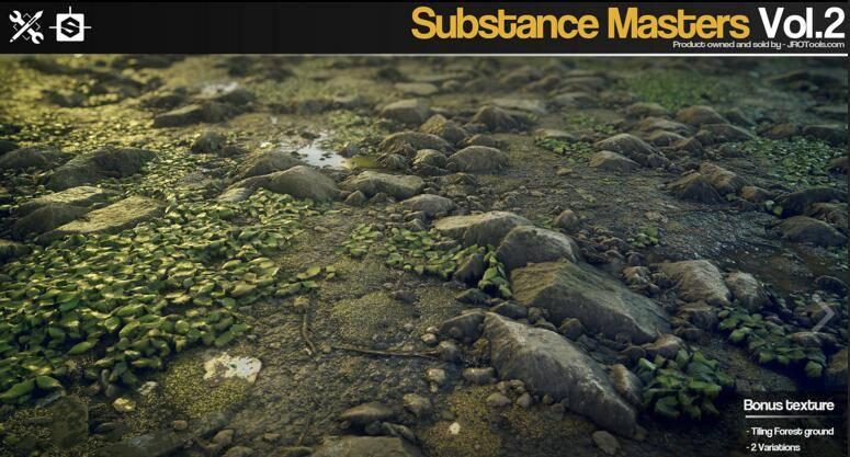 Gumroad – Substance Masters Vol.2 材质纹理制作大师训练班第二季 视频教程 - R站|学习使我快乐! - 2
