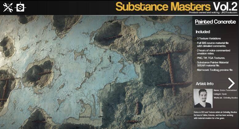 Gumroad – Substance Masters Vol.2 材质纹理制作大师训练班第二季 视频教程 - R站|学习使我快乐! - 5
