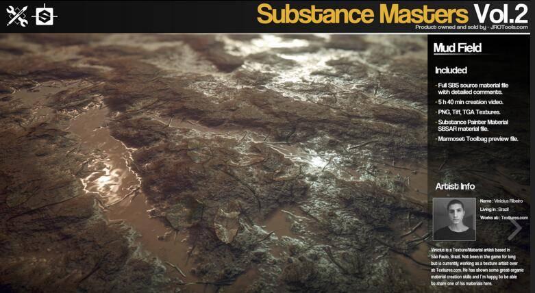 Gumroad – Substance Masters Vol.2 材质纹理制作大师训练班第二季 视频教程 - R站|学习使我快乐! - 6