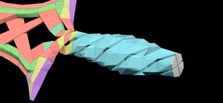 第004期 – C4D《每周一模》建模作业 – 炫酷大宝剑建模 ~ [含模型思路视频]【附作品】NO1:~自醉自演 - R站|学习使我快乐! - 9