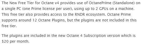 Octane 渲染器 V4.0 XB3 R1(含 V3.08.1 R1/3.07R1) for C4D  Win/Mac 最新消息在这里,个人免费?最新版免费下载 - R 站|学习使我快乐! - 7