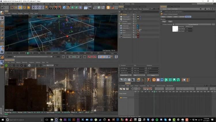 【R站翻译】中文字幕 C4D教程《Octane宝典》第一季 未来科幻城市艺术场景  -  搭建渲染核心技法 视频教程 - R站|学习使我快乐! - 8