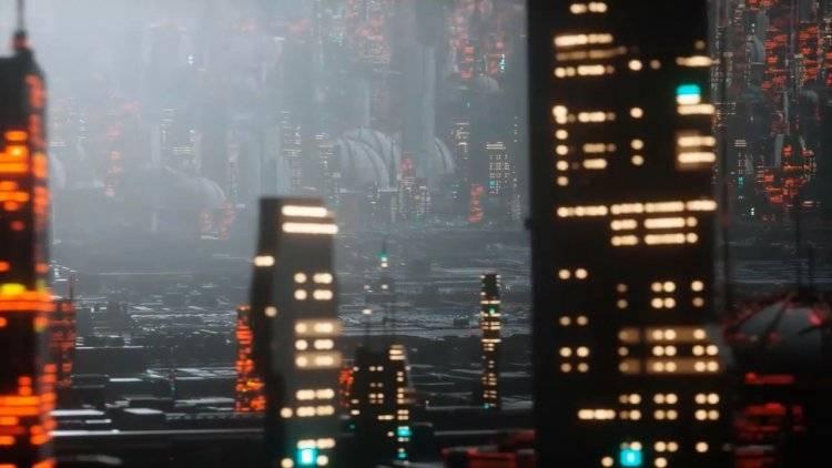 【R站翻译】中文字幕 C4D教程《Octane宝典》第一季 未来科幻城市艺术场景  -  搭建渲染核心技法 视频教程 - R站|学习使我快乐! - 4