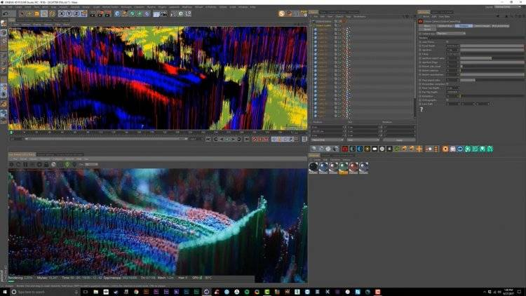 【R站翻译】中文字幕 C4D教程《Octane宝典》自由抽象艺术创作 核心技法 视频教程 - R站|学习使我快乐! - 6