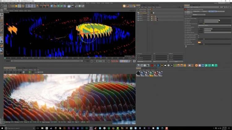 【R站翻译】中文字幕 C4D教程《Octane宝典》自由抽象艺术创作 核心技法 视频教程 - R站|学习使我快乐! - 4