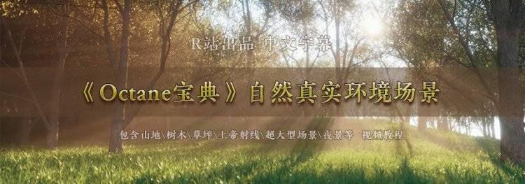【R站出品】中文字幕 C4D教程《Octane宝典》第一季 (共9部/9小时+) 进阶成为大神之路 视频教程 - R站|学习使我快乐! - 6