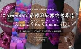 【R站出品】中文字幕 《Arnold5阿诺德渲染器终极指南》The Ultimate Introduction to Arnold 5 for Cinema 4D 视频教程 强烈推荐!!!