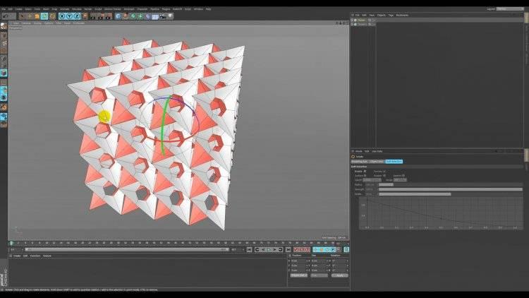 【R站段叔】C4D教程《建模宝典》抽象艺术立方体孔洞 Abstract Art Modeling 视频教程 免费观看 - R站|学习使我快乐! - 4