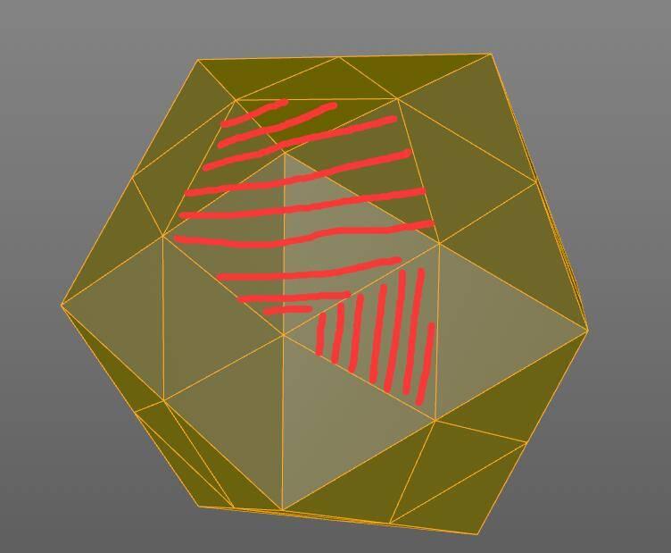 【R站洪瑞】C4D建模教程:图文详解五角星足球的建模思路 - R站|学习使我快乐! - 5