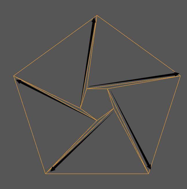 【R站洪瑞】C4D建模教程:图文详解五角星足球的建模思路 - R站|学习使我快乐! - 9
