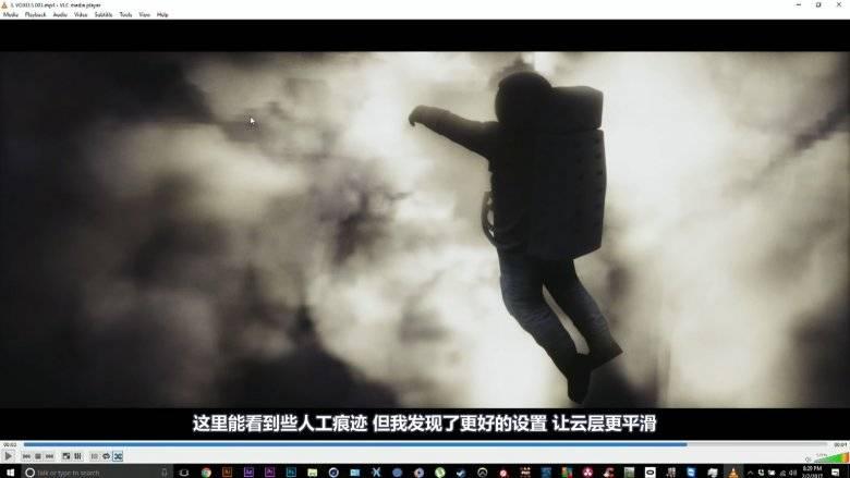 【R站出品】中文字幕 C4D教程《Octane宝典》太空音乐 Walk Away 商业大片技术解析 视频教程 - R站|学习使我快乐! - 3
