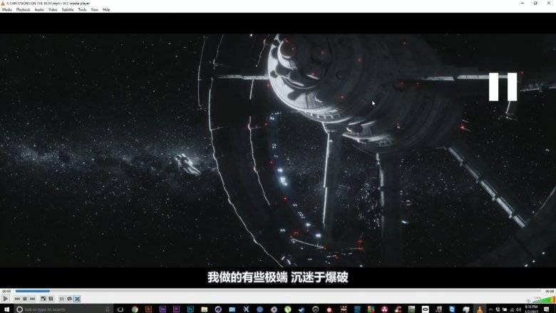【R站出品】中文字幕 C4D教程《Octane宝典》太空音乐 Walk Away 商业大片技术解析 视频教程 - R站|学习使我快乐! - 2