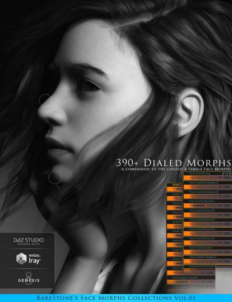 【大米姐姐】DAZ3D 官方自由CG艺术家Rarestone 一大波DAZ精致的人物模型作品来袭 - R站|学习使我快乐! - 8