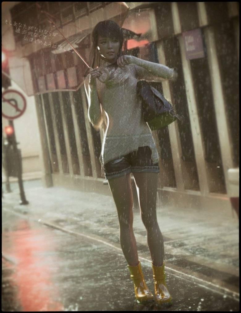 【大米姐姐】DAZ3D 官方自由CG艺术家Rarestone 一大波DAZ精致的人物模型作品来袭 - R站|学习使我快乐! - 4