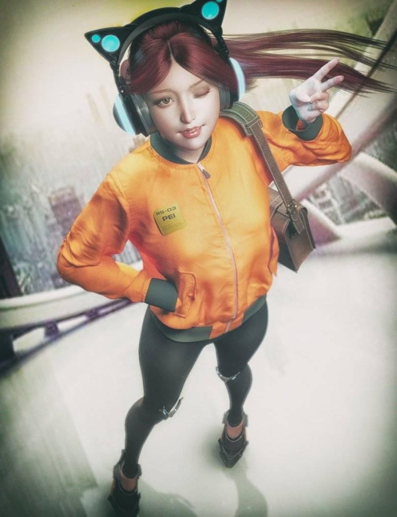 【大米姐姐】DAZ3D 官方自由CG艺术家Rarestone 一大波DAZ精致的人物模型作品来袭 - R站|学习使我快乐! - 5