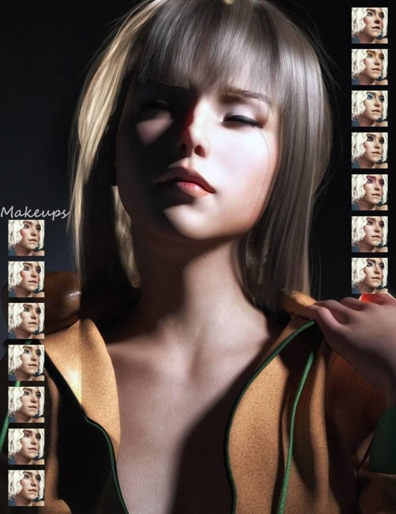 【大米姐姐】DAZ3D 官方自由CG艺术家Rarestone 一大波DAZ精致的人物模型作品来袭 - R站|学习使我快乐! - 6