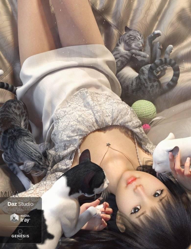 【大米姐姐】DAZ3D 官方自由CG艺术家Rarestone 一大波DAZ精致的人物模型作品来袭 - R站|学习使我快乐! - 12