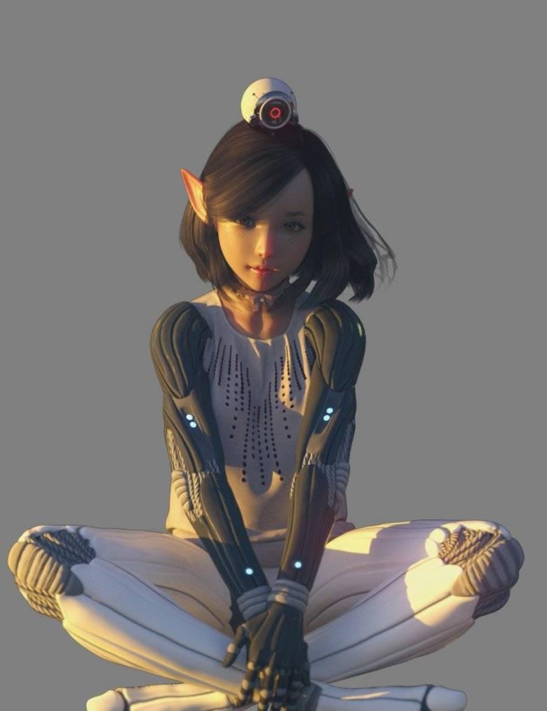 【大米姐姐】DAZ3D 官方自由CG艺术家Rarestone 一大波DAZ精致的人物模型作品来袭 - R站|学习使我快乐! - 14