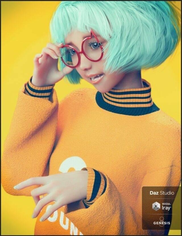 【大米姐姐】DAZ3D 官方自由CG艺术家Rarestone 一大波DAZ精致的人物模型作品来袭 - R站|学习使我快乐! - 19
