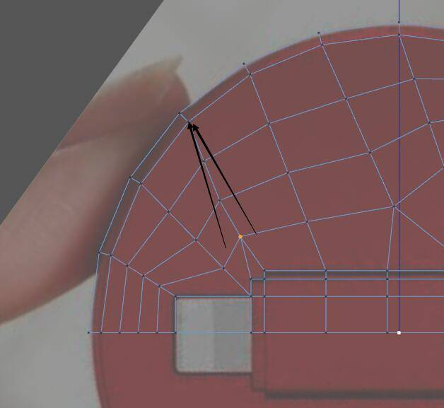 【R站洪瑞】C4D建模教程:球面曲面布线方案 - R站|学习使我快乐! - 10