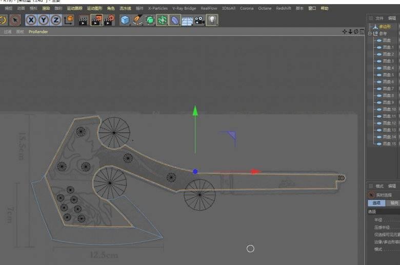 【R站洪瑞】C4D建模教程:第020期《每周一模》斧头的建模分析及布线方法 - R站|学习使我快乐! - 8