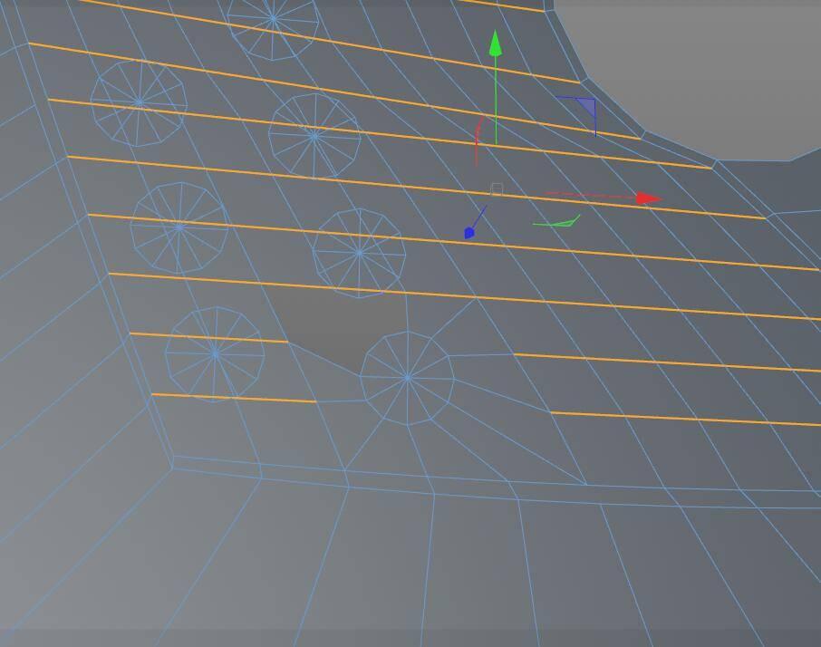 【R站洪瑞】C4D建模教程:第020期《每周一模》斧头的建模分析及布线方法 - R站|学习使我快乐! - 10