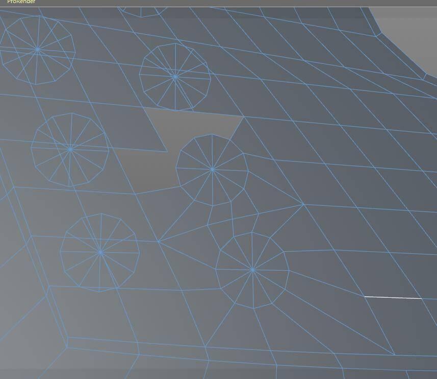 【R站洪瑞】C4D建模教程:第020期《每周一模》斧头的建模分析及布线方法 - R站|学习使我快乐! - 11