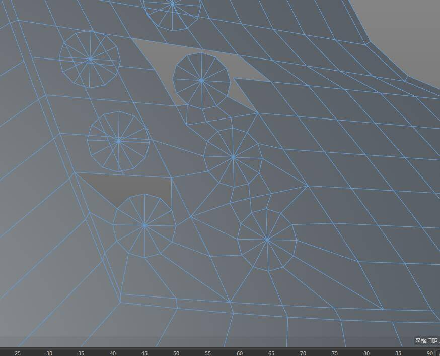 【R站洪瑞】C4D建模教程:第020期《每周一模》斧头的建模分析及布线方法 - R站|学习使我快乐! - 12