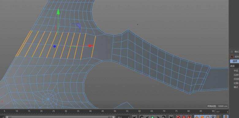 【R站洪瑞】C4D建模教程:第020期《每周一模》斧头的建模分析及布线方法 - R站|学习使我快乐! - 17