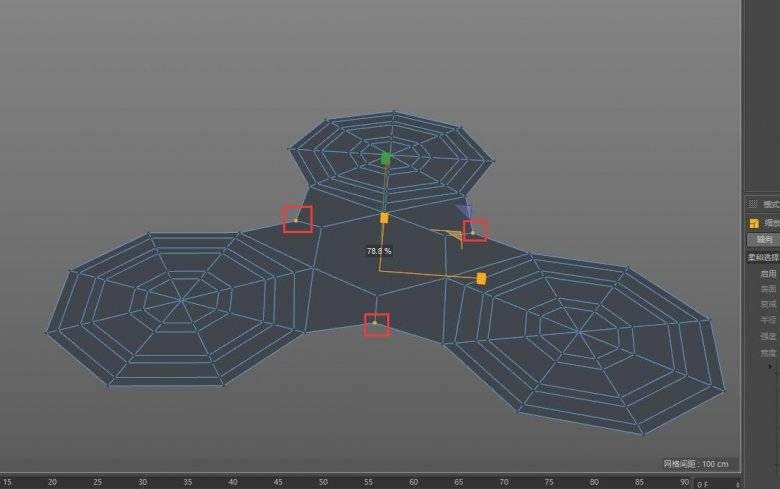 【R站洪瑞】C4D建模教程:手指陀螺的建模方法 - R站|学习使我快乐! - 10