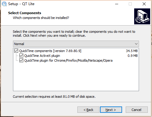 Apple视频解码器:QuickTime Alternative Lite 4.10 - R站|学习使我快乐! - 1