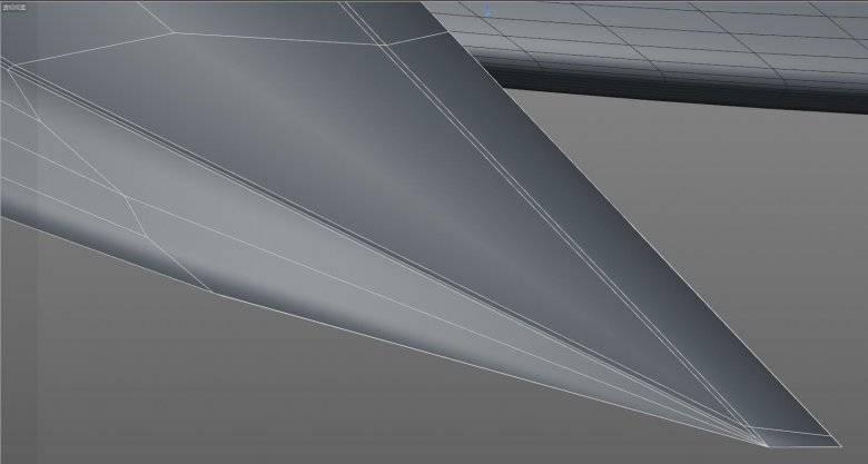 【R站洪瑞】C4D建模教程:双刃战鹰折刀建模过程 - R站|学习使我快乐! - 21