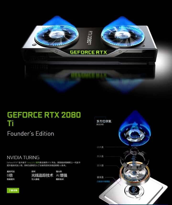 备受关注的新一代卡皇:英伟达RTX 2080/2080ti 显卡与渲染那些相关的知识浅析 煤气灶有多厉害~ - R站|学习使我快乐! - 1