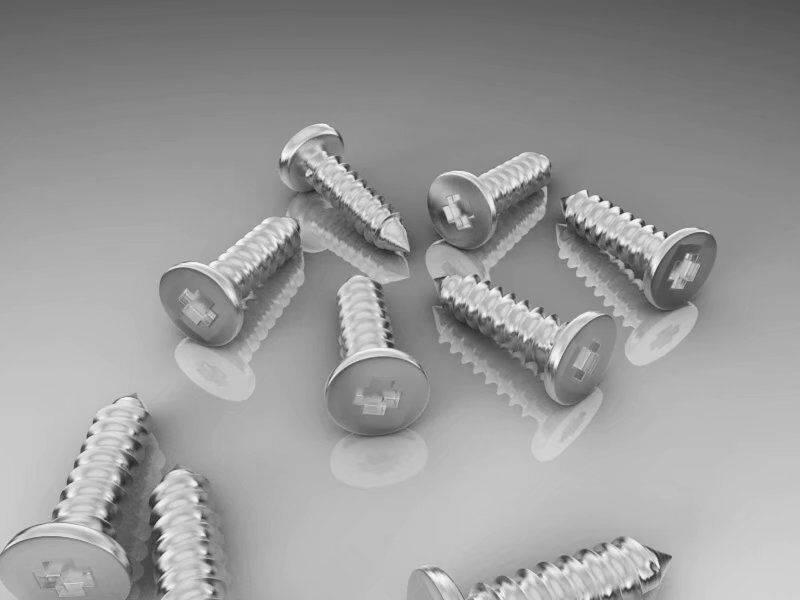 第018期 – C4D《每周一模》建模作业 – 螺丝钉建模【附作品】NO1:南 - R站|学习使我快乐! - 2
