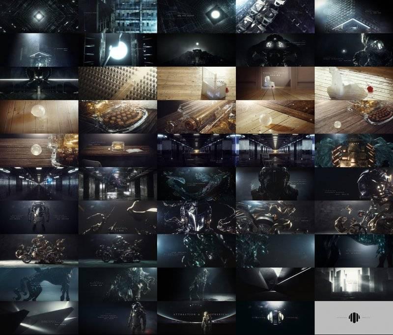 【Ligo Zhang】顶级神作来袭《引力球体》美到爆~全球创意视频库Stashmedia推荐作品  Attraction & Spherical (工程文件) - R站|学习使我快乐! - 2