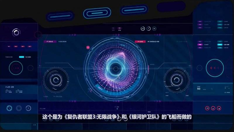 【VIP专享】中文字幕 C4D教程《FUI Design》科幻可视化界面设计 视频教程 - R站|学习使我快乐! - 5