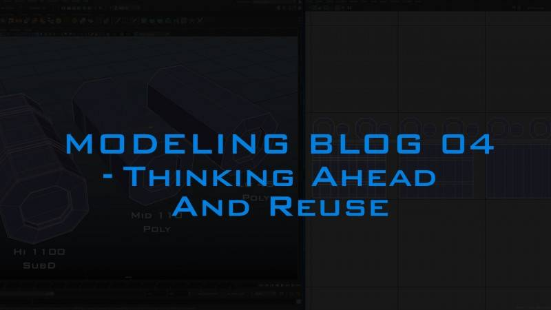 【R站AI】Modeing Blog 04 Thinking Ahead and Reuse 超前思维和重复利用 来自大佬 Andrew Hodgson - R站|学习使我快乐! - 1