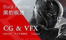【R站译制】中文字幕 CG&VFX《黑豹》漫威科幻大片 幕后视效解析 Black Panther 视频教程 免费观看