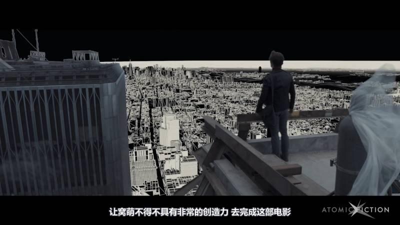 【R站译制】中文字幕 CG&VFX《云上行走》传记大片 幕后视效解析 The Walk 视频教程 免费观看 - R站|学习使我快乐! - 3