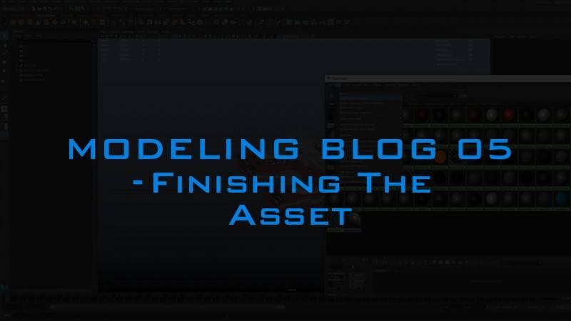 【R站AI】Modeing Blog 05 Finishing the Asset 完成资产 来自大佬 Andrew Hodgson - R站|学习使我快乐! - 1