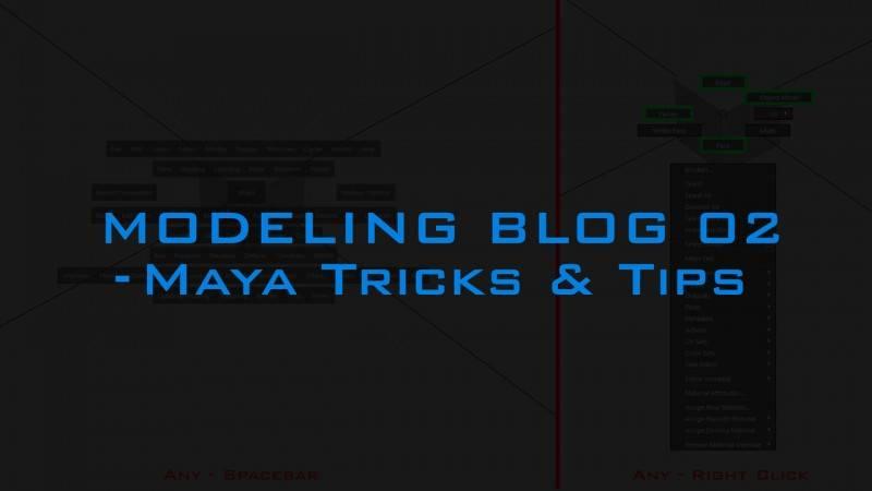 【R站AI】Modeing Blog 02 Maya Tricks and Tricks Maya小技巧(如何正确的甩鼠标) 来自大佬 Andrew Hodgson - R站|学习使我快乐! - 1