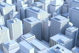 3D模型:19个低模风格建筑 LowPoly buildings (.C4D/.3DS/.FBX/.OBJ格式) 免费下载