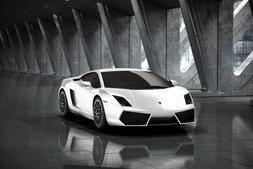 3D模型:兰博基尼·盖拉多 超跑模型 Lamborghini Gallardo LP 560-4 (.C4D格式/含贴图) 免费下载