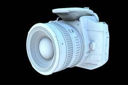 3D模型: 佳能EOS单反相机 Canon Camera (.C4D格式) 免费下载