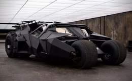 3D模型: 《蝙蝠侠·黑暗骑士》蝙蝠侠战车 Batman Tumbler (.C4D格式) 免费下载