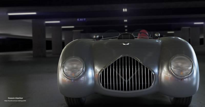 Hum3D第五届 2018年度最佳汽车渲染大赛 Car Render Challenge 2018 作品欣赏 多图慎入 - R站|学习使我快乐! - 13